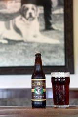 Cedric's Tavern, named for the Vanderbilt family's dog, makes their own beer including a brown ale.