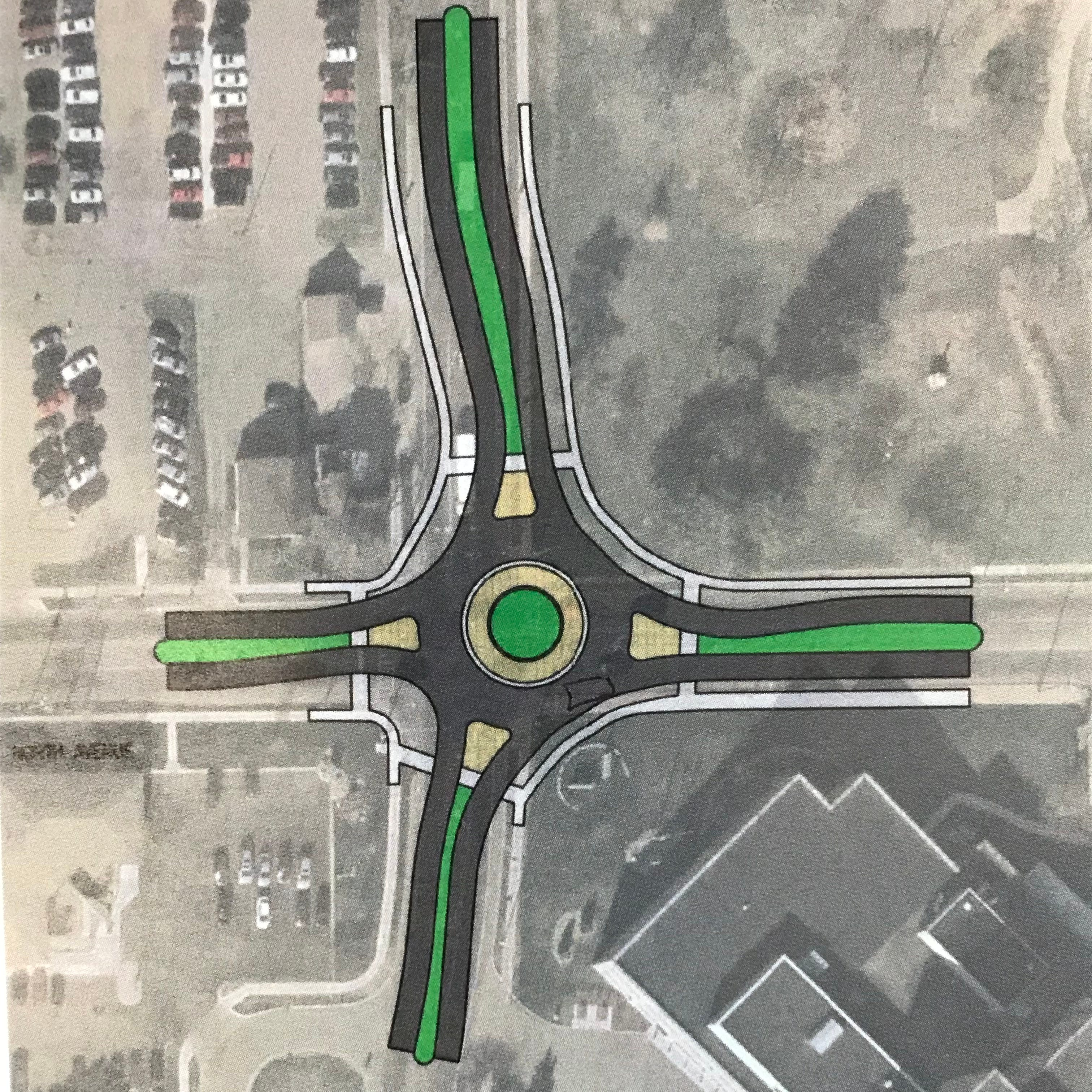 After fatal crash, Battle Creek wants to put a roundabout at the intersection of North and Emmett