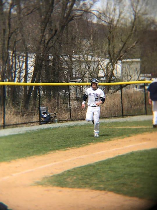 Lackawanna College's Ryan Cole (Maine-Endwell) earned MVP honors in the Northeast District series last weekend.
