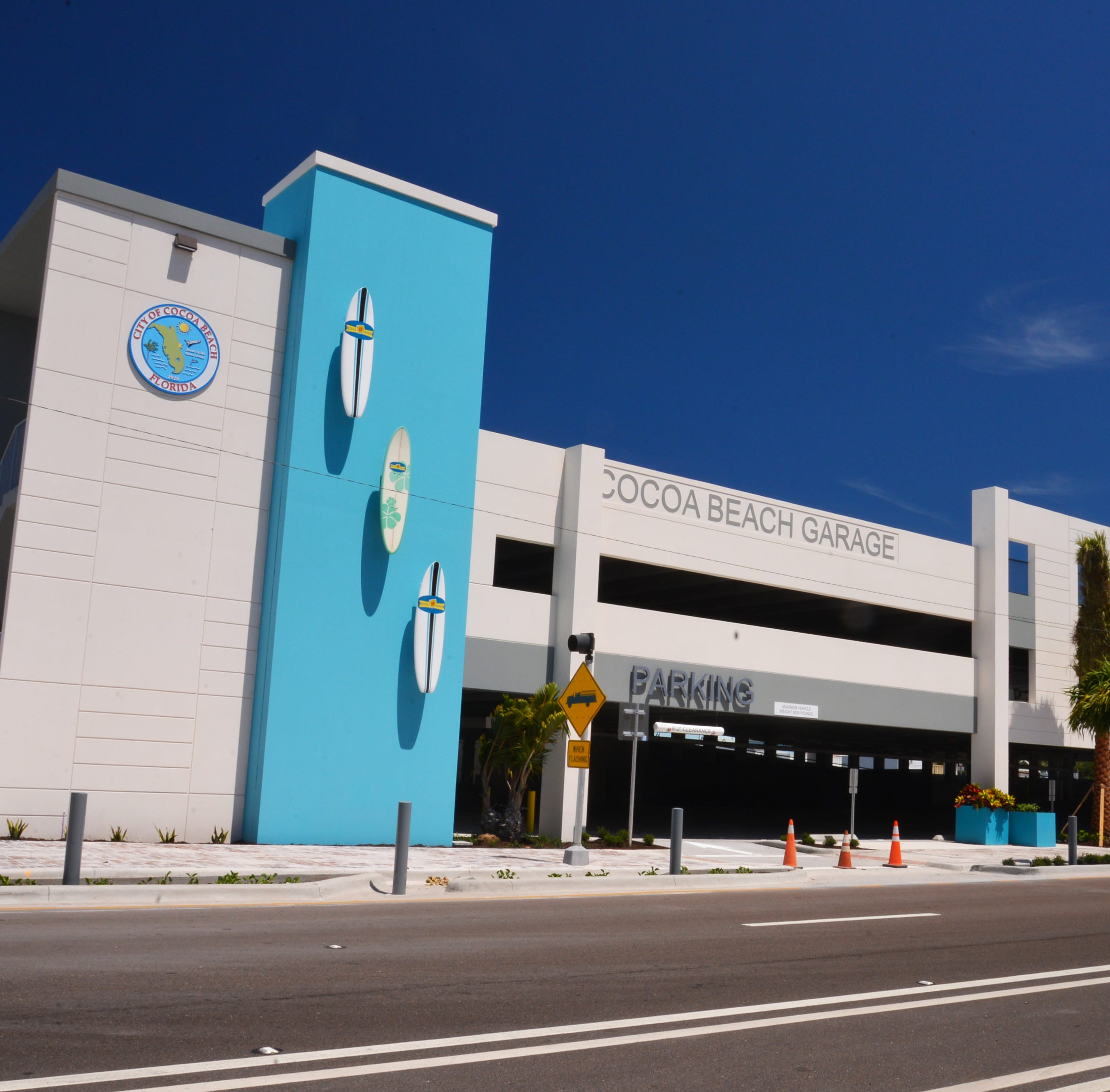 Cocoa Beach's $5.2 million public parking garage now targeted to open on Friday