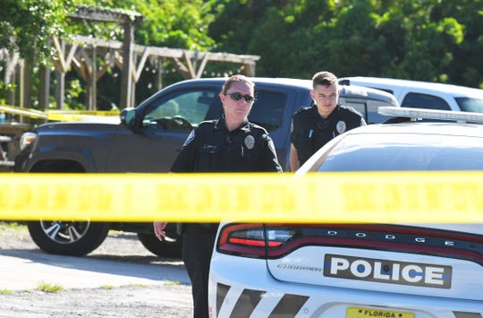 Three people were injured by gunfire on Sunday afternoon at the back patio of The Wet Spot, a Palm Bay tavern on U.S. 1. The shooting is under investigation, as Palm Bay police, Melbourne police, and the Brevard County Sheriff's Office were on the scene.