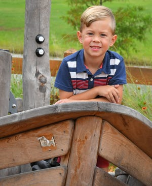Aven Burr, 5, is the Space Coast Parent Child of the Month for June, 2019.