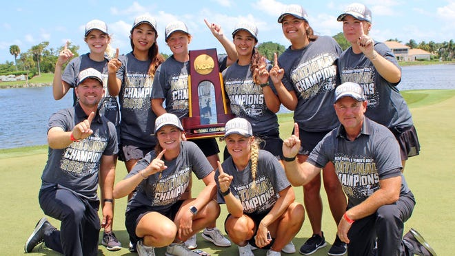 Florida Tech's women's golf team won the NCAA Division II title but the program will be disbanded.