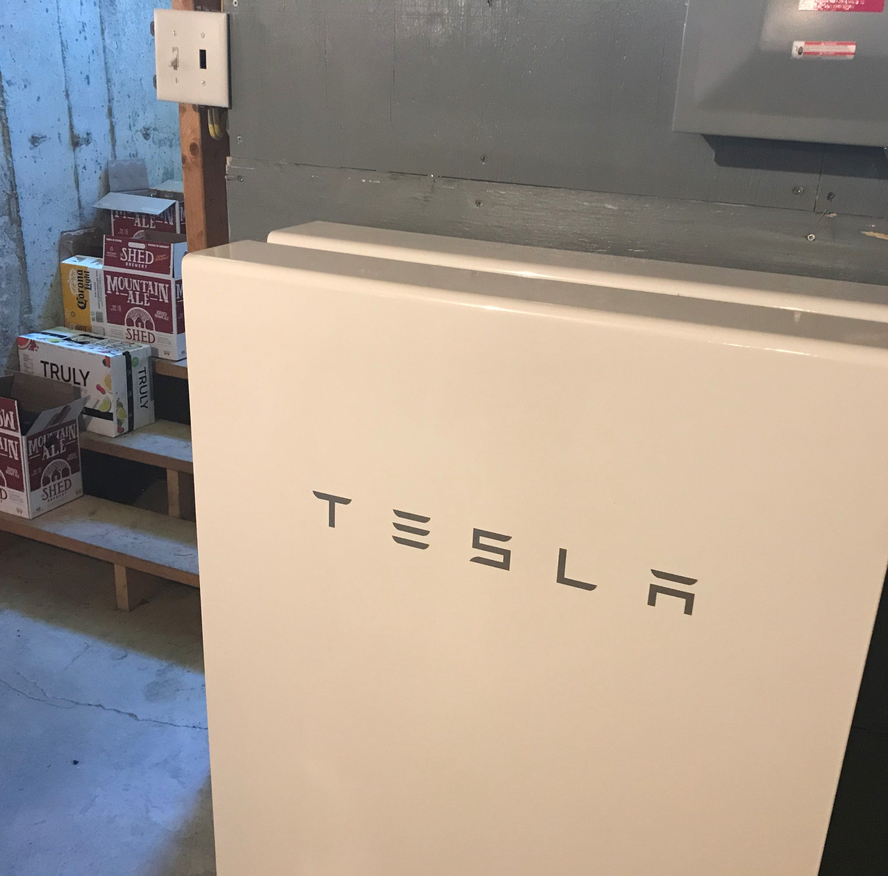 Tesla Powerwall provides seamless backup for some Vermonters when the power's out