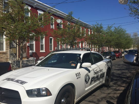 Camden County police officers are investigating the fatal stabbing of a Philadelphia woman in Camden.