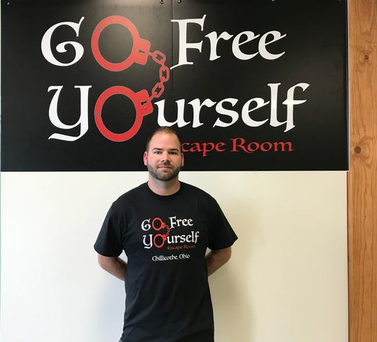 Owner of Go Free Yourself Matthew Cordial says that he and his wife love to participate in escape rooms which inspired him opening a local one.