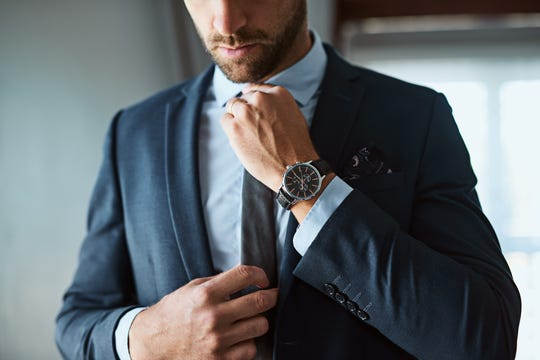 Dress up! You don't have to wear a suit but put something on that will give you confidence.