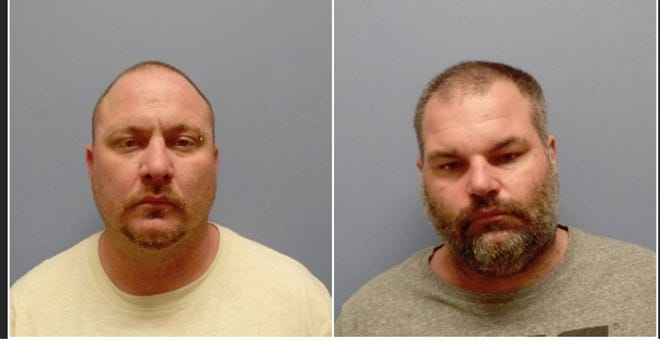 Harley R. Piatt and Douglas W. Dyson, both of Texas, are two of three men Fort Mitchell Police Department investigators say they are searching for in connection with a May 16, 2019, armed robbery at Central Bank.