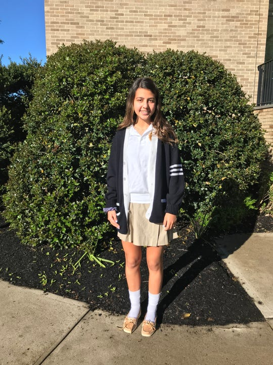 Sabrina Dilorio of Scotch Plains, a sophomore at Mount Saint Mary Academy was chosen to participate in the IACE summer program in Narni, Italy