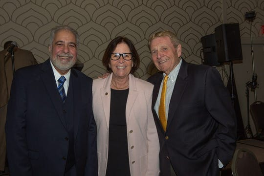 Elizabeth Councilman and President of Elizabeth's Promise Awards, Inc., Frank Cuesta, Union County College President Dr. Margaret M. McMenamin, and Union County College Board of Trustees Chair Victor M. Richel.