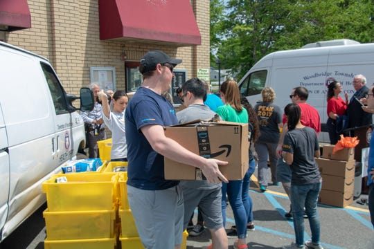 Amazon donated more than 700 items to the Woodbridge Animal Shelter & Pet Adoption Center to help support animals in need on May 20.