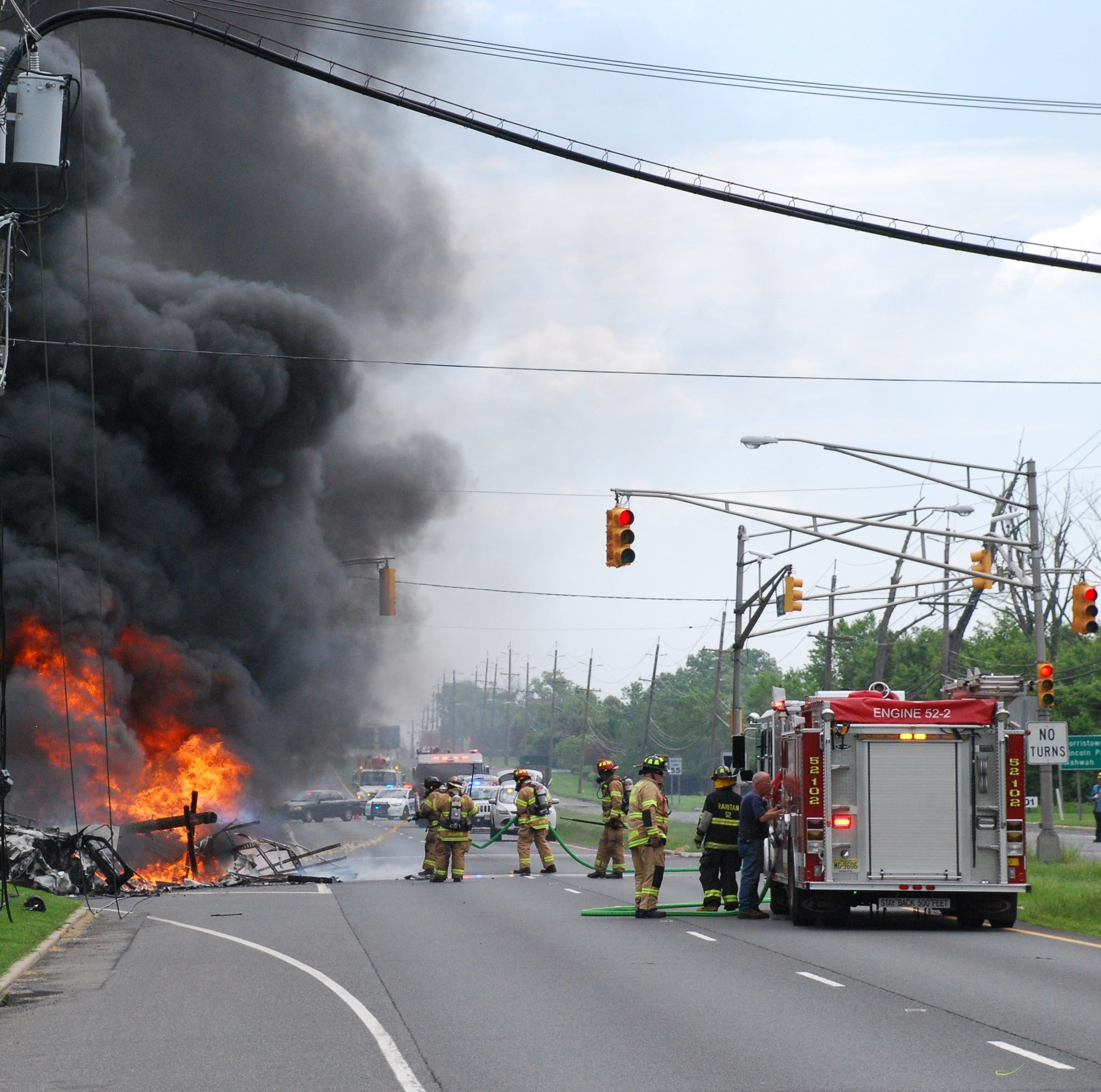 NJ traffic: Route 202 in Raritan Borough re-opens after truck fire