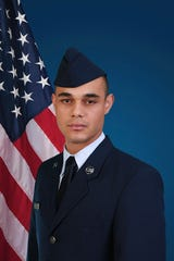 U.S. Air Force Airman Patrick J. Diaz.
