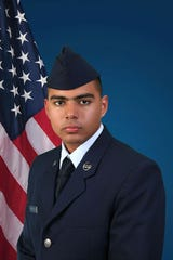 U.S. Air Force Reserve Airman 1st Class Eduardo D. Beleno.