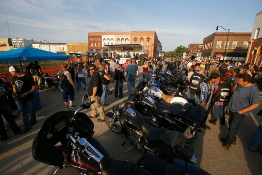 The Indianola Square was flooded with motorcycles in 2019 for the annual summer-long event Bike Down to I Town, known as Bike Night. The event has been canceled for 2020 due to COVID-19.