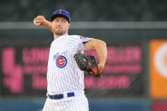 Colin Rea has become the most consistent pitcher for the Iowa Cubs this season.