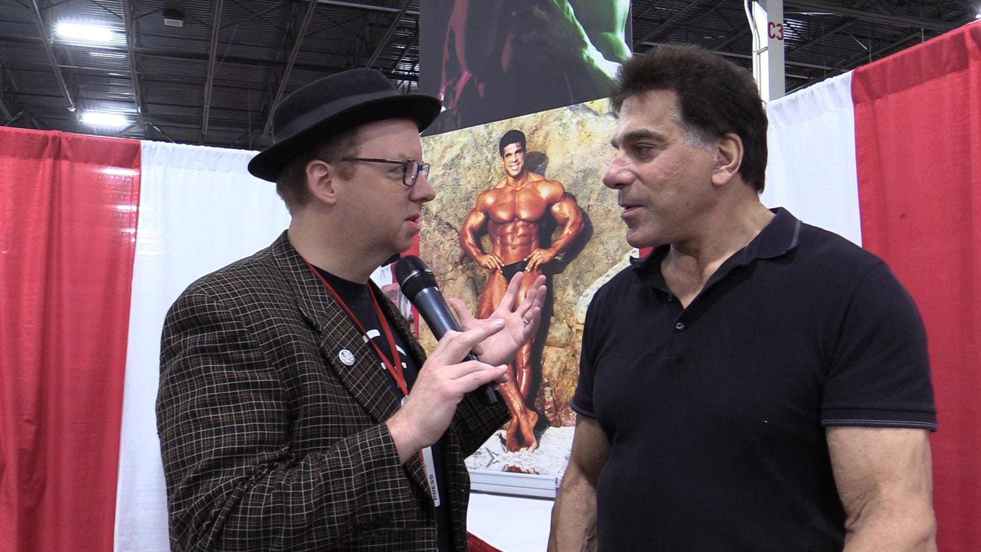 Lou Ferrigno at Motor City Comic Con 2019