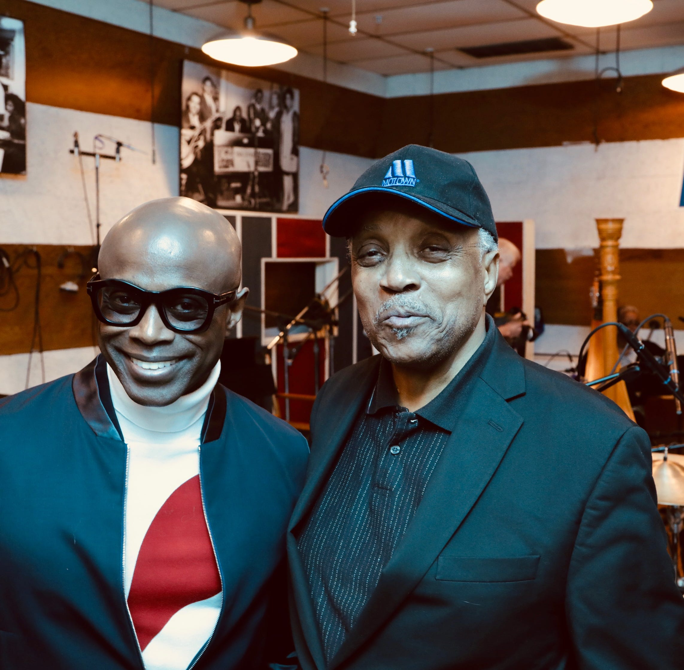 Kem records at Hitsville in first Motown session there in nearly half a century