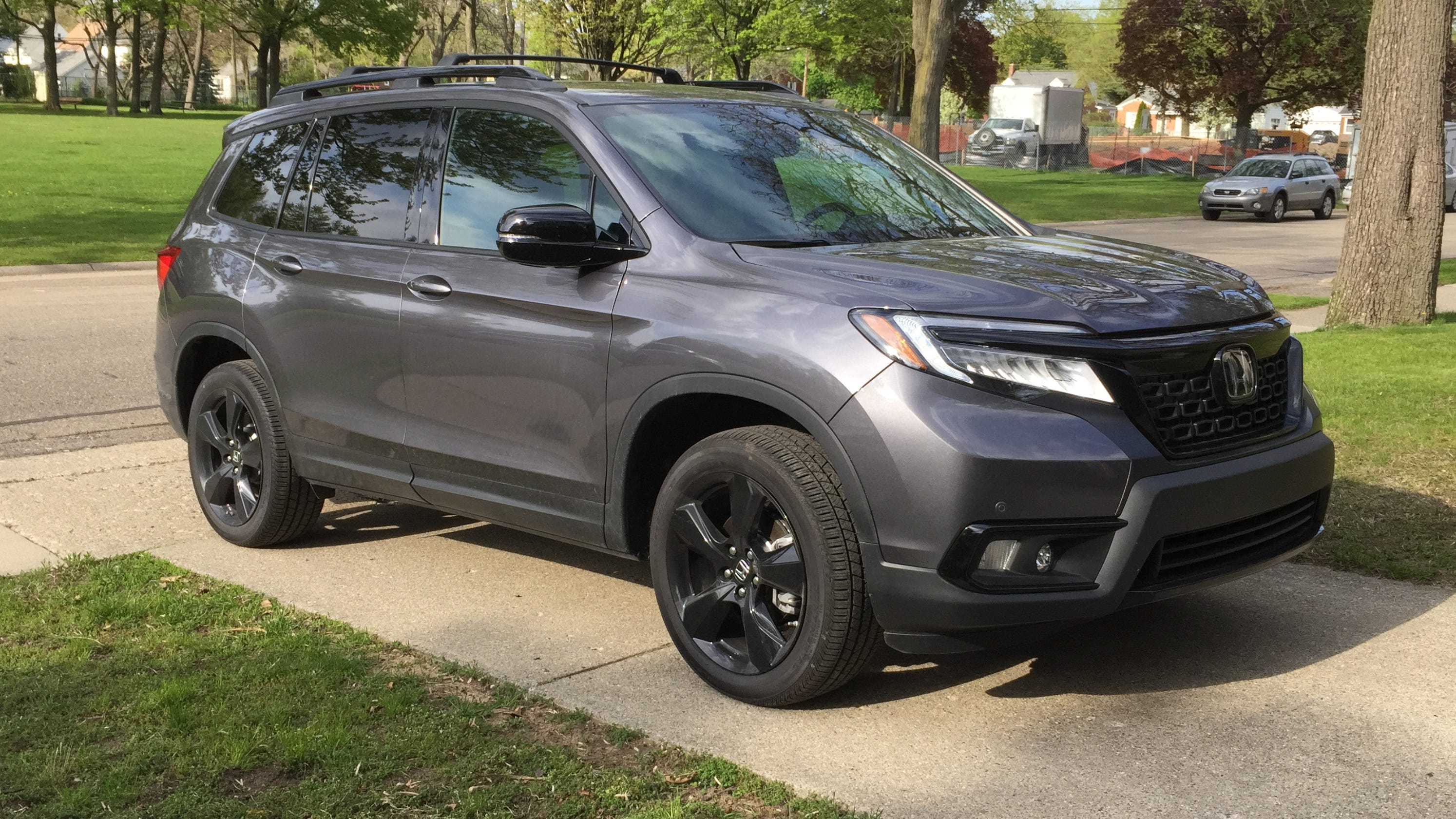 2019 Honda Passport Suv Brings The Steak Not Much Sizzle