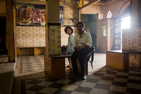 "Sanya Malhotra and Nawazuddin Siddiqui in ""Photograph."""