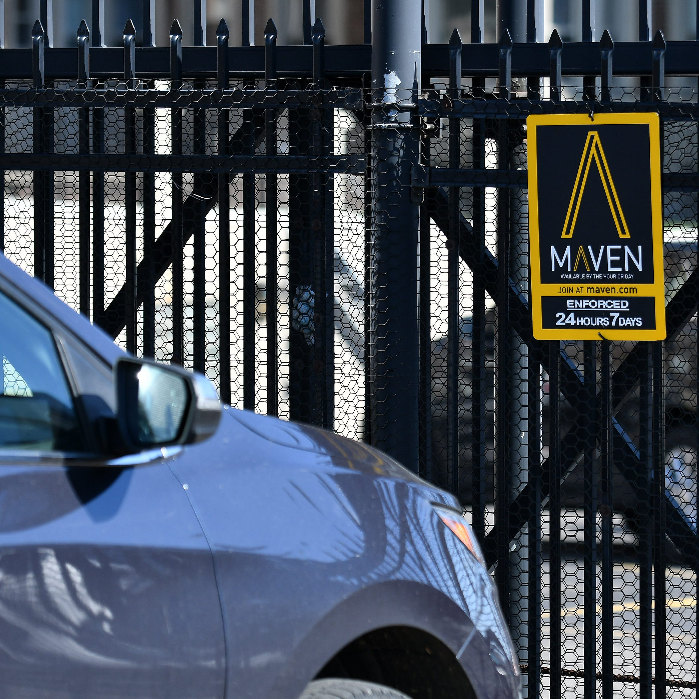 GM's Maven car-sharing service leaving 8 cities but not Detroit