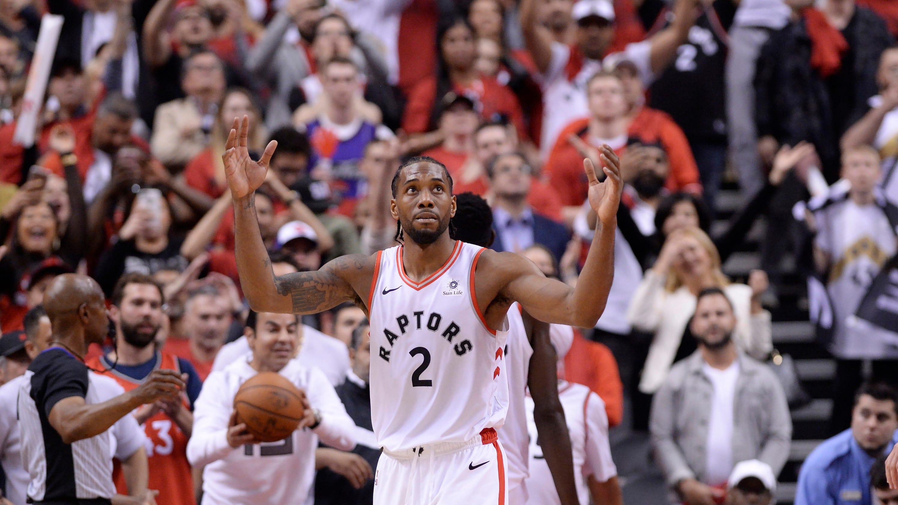 064c2e0a4 Sunday s NBA playoffs  Kawhi Leonard scores 36