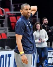 LaVall Jordan is 37-31 in two seasons as Butler's head coach.