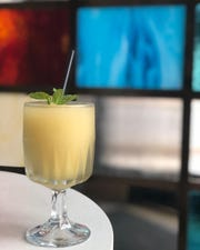 Right now Gold Cash Gold is serving a frozen drink made with pisco, kaffir lime, mint and yerba mate tea for $6.