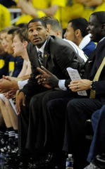 "Former Michigan assistant coach LaVall Jordan has a ""calm but serious"" coaching style, one of his former players at Michigan said."