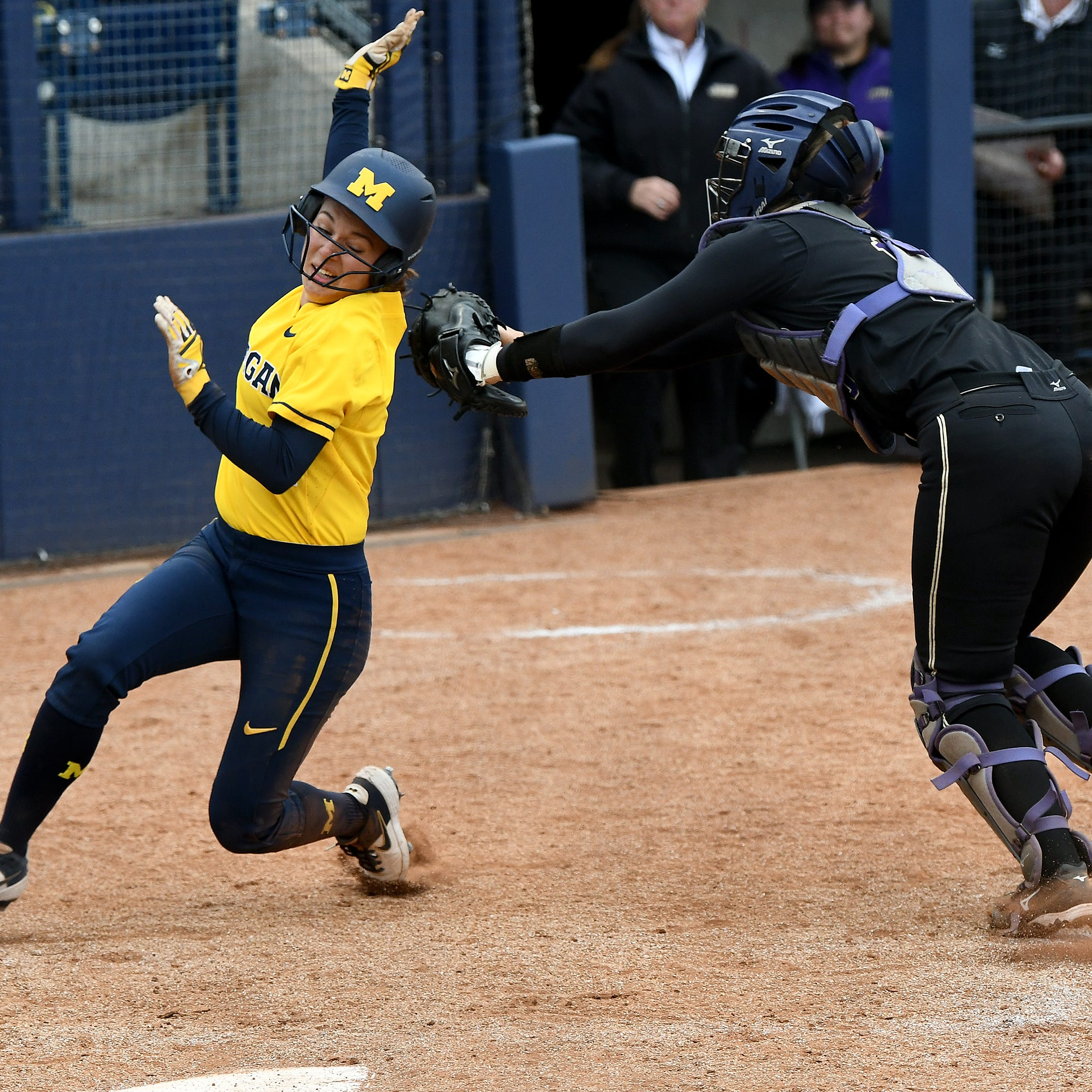 Down goes Michigan: James Madison softball sweeps two games, sends Wolverines packing from NCAAs