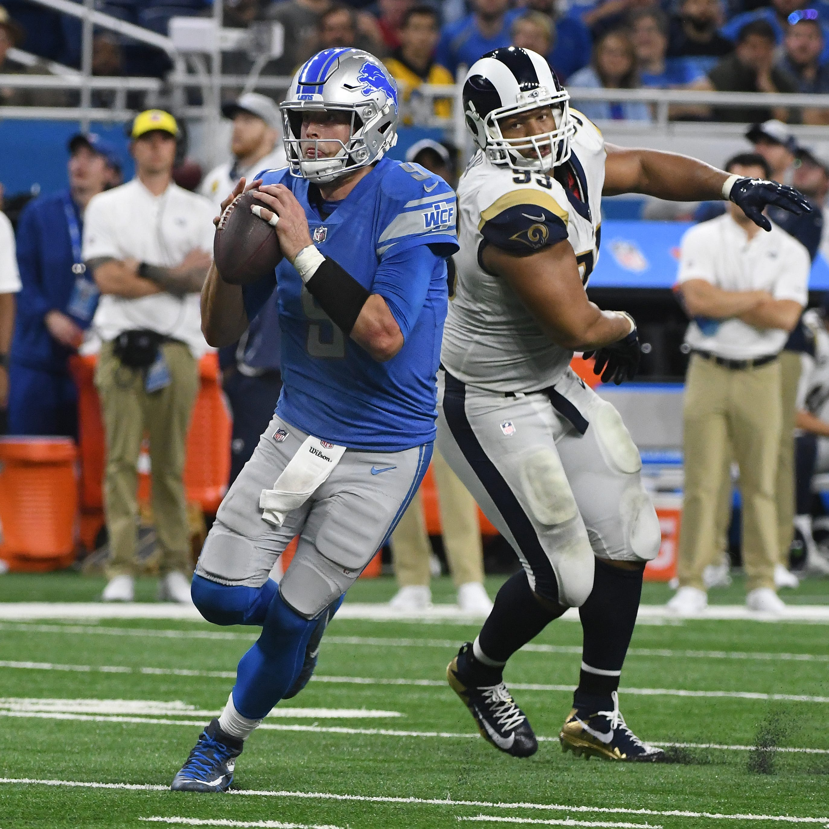Pass game preview, Jahlani Tavai's use and other things to follow in Lions OTAs