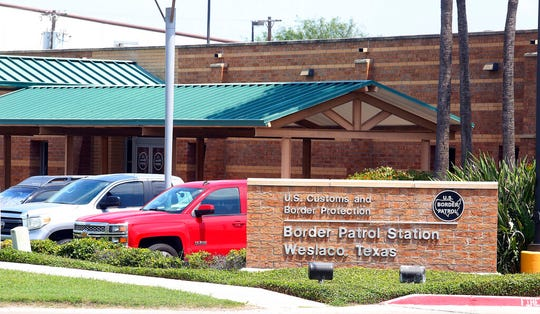 This May 20, 2019 photo shows the Border Patrol Station in Weslaco, Texas. The U.S. government says a 16-year-old from Guatemala died at the Border Patrol station, becoming the fifth death of a migrant child since December.