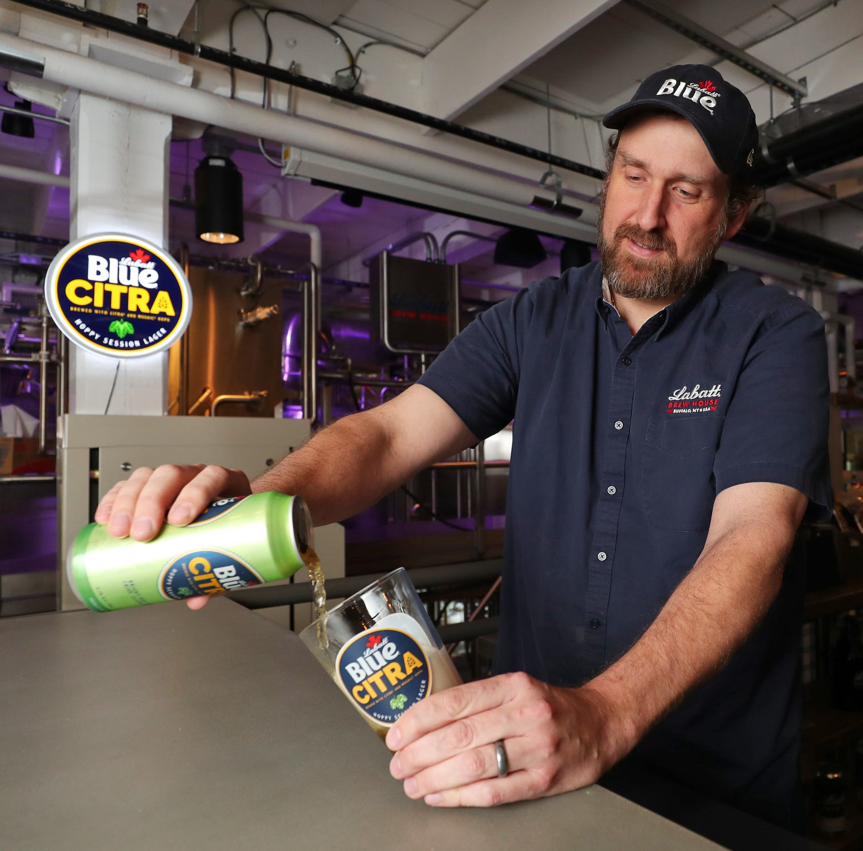 Troy native is first Labatt USA brewmaster, mind behind Blue Citra
