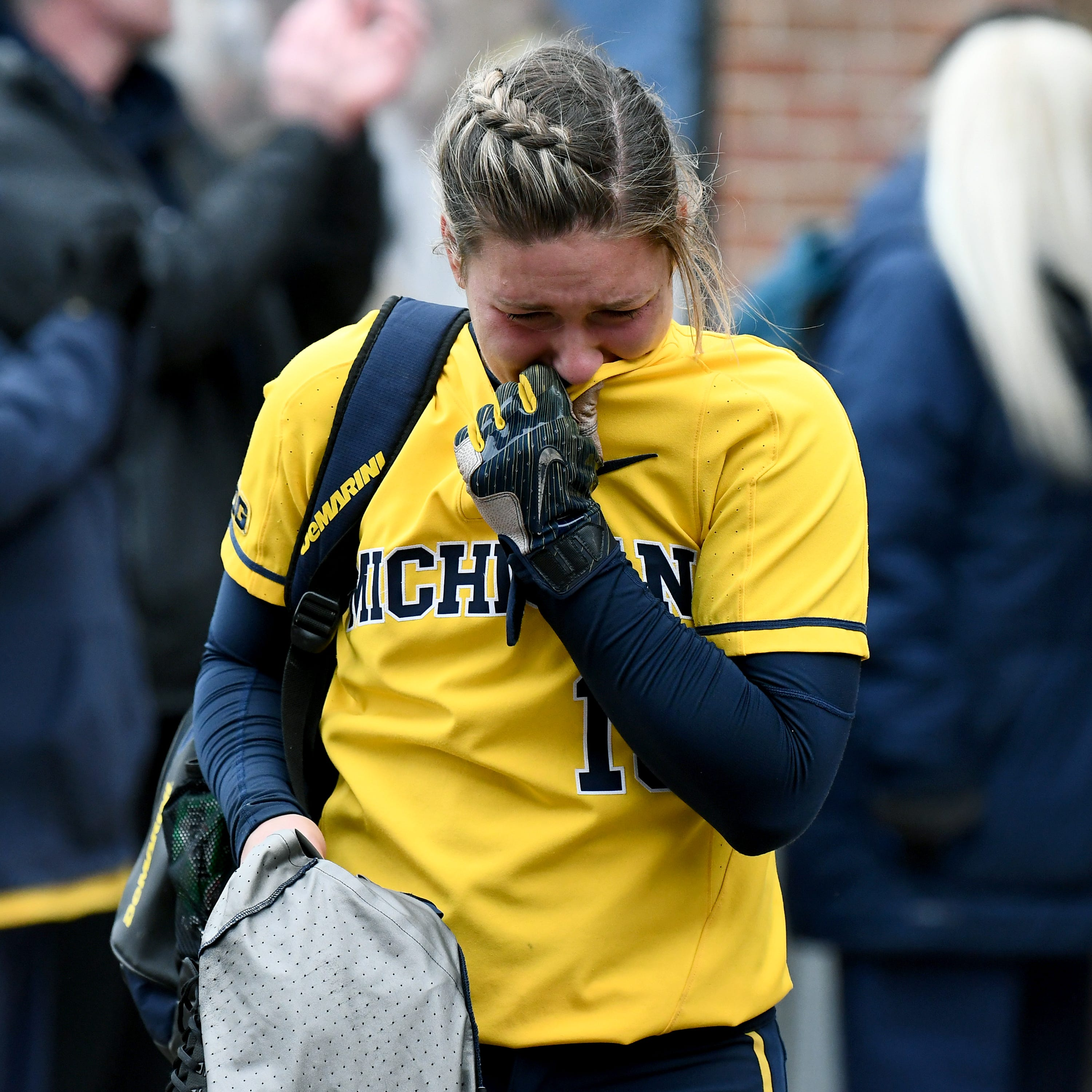 'Just wasn't enough': Michigan softball swept out of NCAAs by James Madison