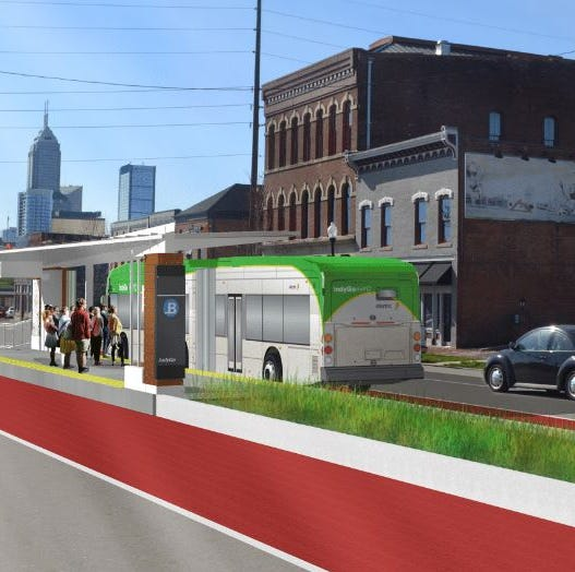 The Blue and Purple lines are coming to Indianapolis. Here's what that means.