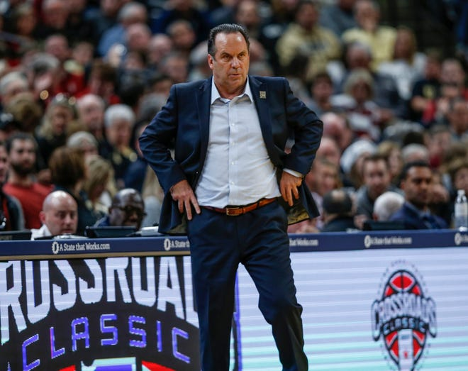 Notre Dame coach Mike Brey is now the president of the National Association of Basketball Coaches.