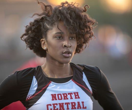 North Central's Ramiah Elliott is one of the fastest girls in the country in her age group.