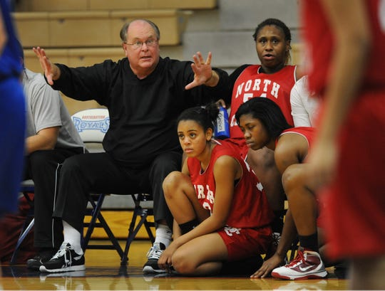 Shown here in 2010, Alan Vickrey coached at North Central from 2007-11.