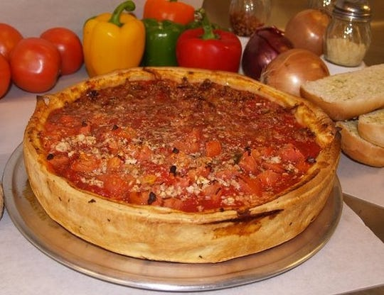 Tortuga's Homemade Pizza in Hoover, Alabama, is known for its Chicago deep-dish style pizza.