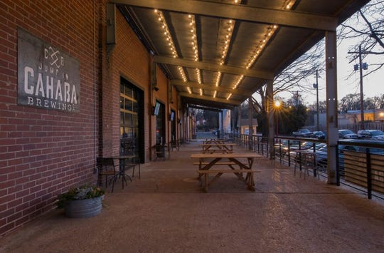 If you're looking for a neat place to hang out in the Birmingham area, try Cahaba Brewing Company.