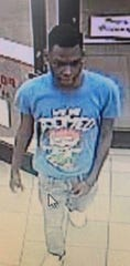This man is a person of interest in connection to the theft of about 11 firearms from RFC Tactical in Milan on Sunday.