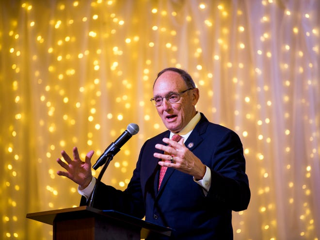 "U.S. Rep. Phil Roe speaks at the Knoxville News Sentinel's inaugural health care breakfast ""Who Gets to Be Healthy?"" held at Relix Variety on Monday, May 20, 2019."