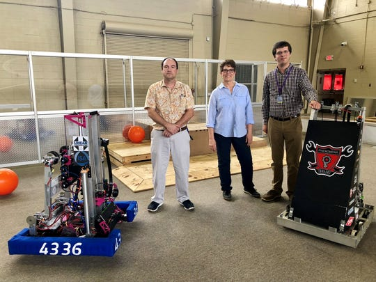 Lafayette Parish students can study robotics, engineering, drones and more with state-of-the-art equipment and teachers Philip Ryland, Lisa Ranny and Ben Godwin at the I-Tech Center at W.D. & Mary Baker Smith Career Center.
