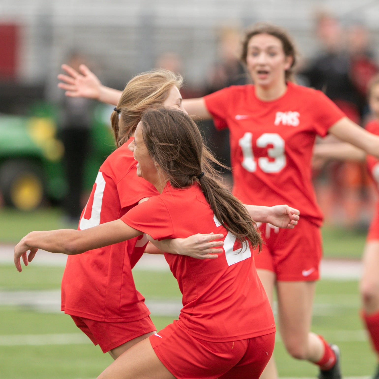 Dramatic goal, save give Pinckney first girls soccer league title