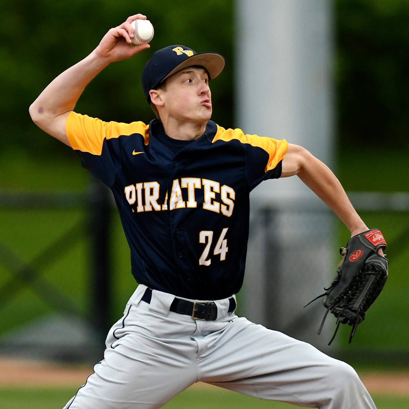 Behind ace Brendan Thelen, Pewamo-Westphalia stays perfect with Diamond Classic win
