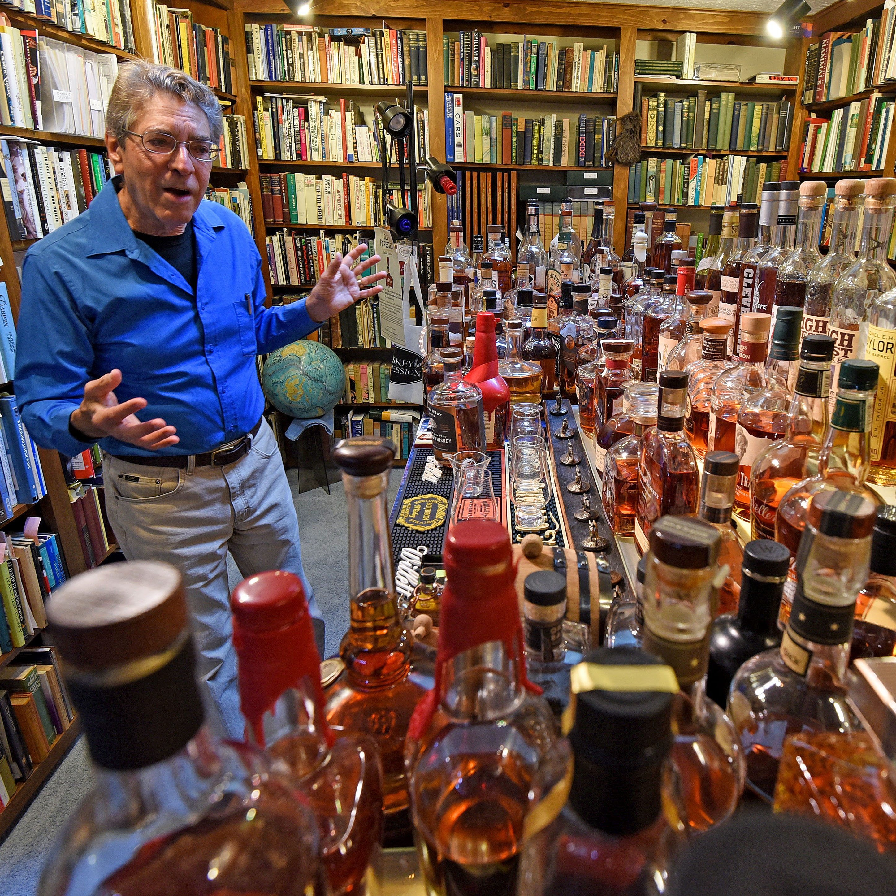 Cheers! OSU professor researches bourbon for new book