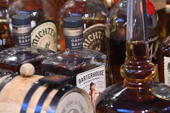 Tim Berra, Ph.D., a professor emeritus of evolution, ecology and organismal biology at The Ohio State University, has an extensive collection of bourbons.