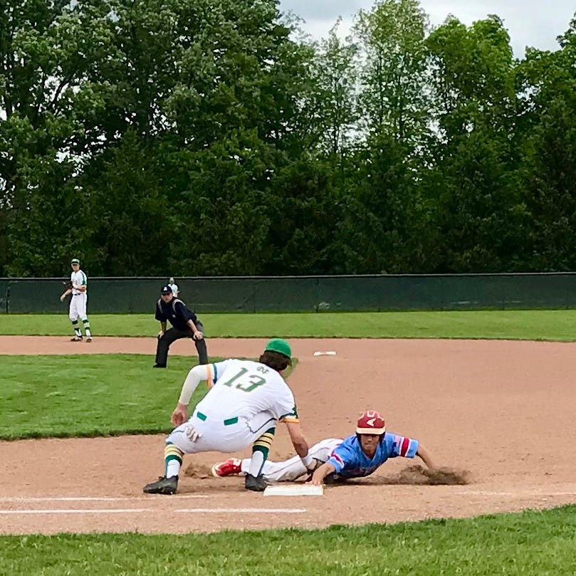 Newark Catholic uses Ridgedale errors in district baseball win