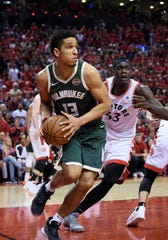 Malcolm Brogdon will likely come off the Bucks bench again for Game 4 against the Raptors on Tuesday night.