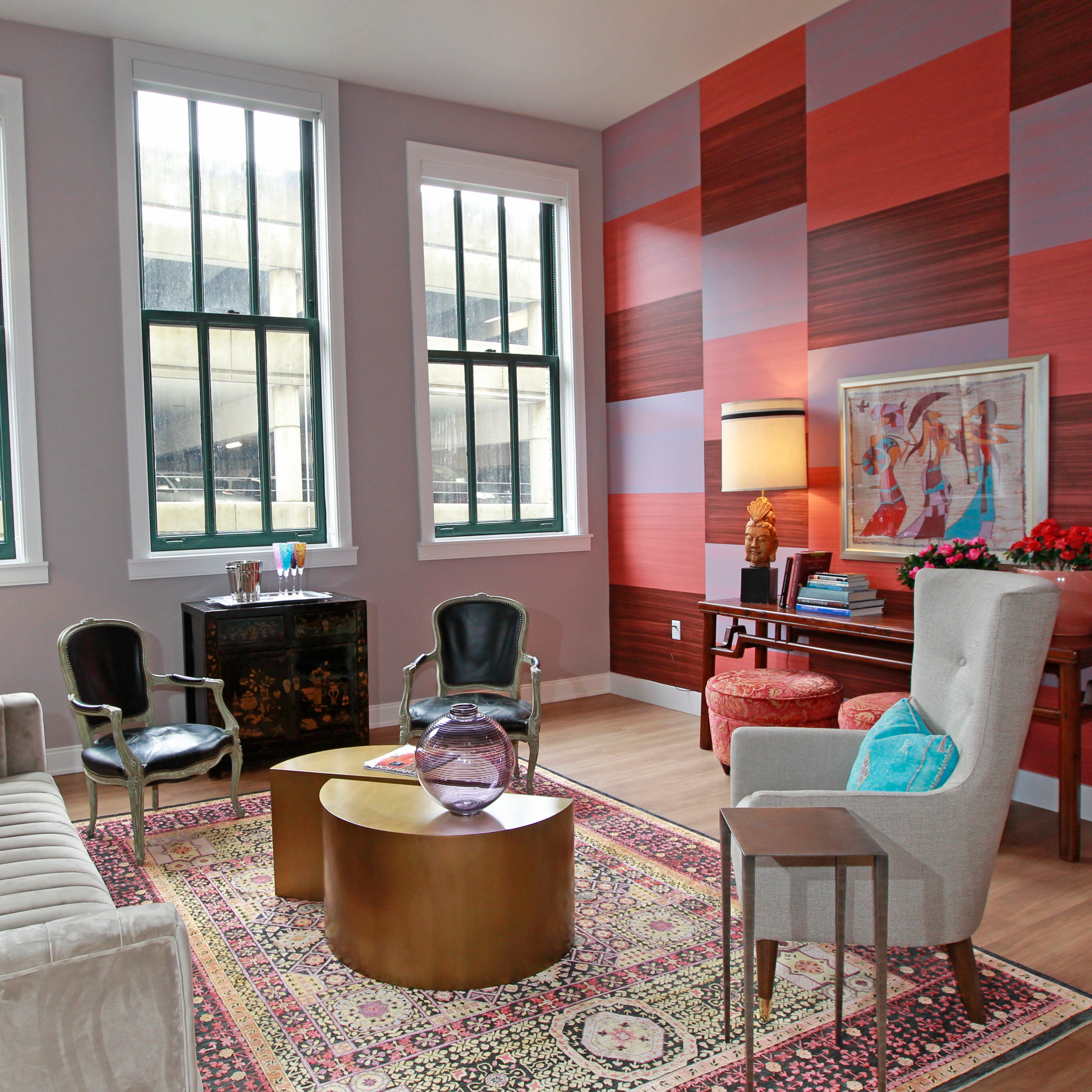 Colorful new apartments at Grand Avenue make this year's Breast Cancer Showhouse something special